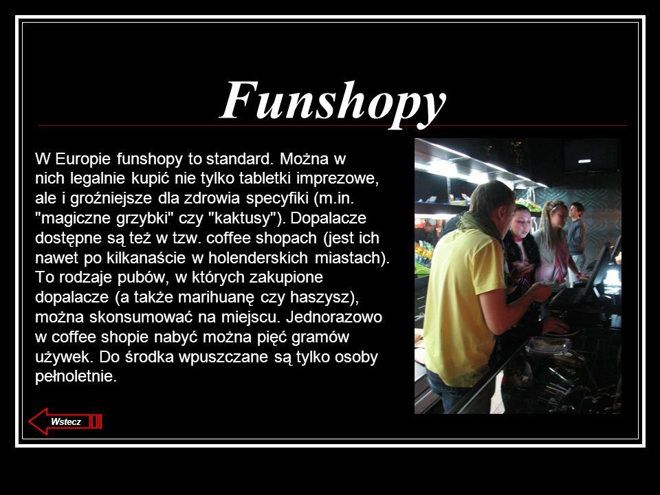 Funshopy W Europie funshopy to standard. Można w