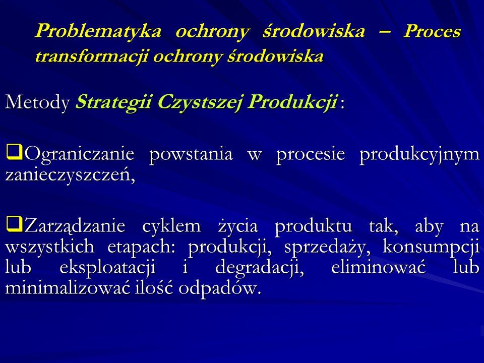 Problematyka ochrony środowiska – Proces transformacji ochrony środowiska