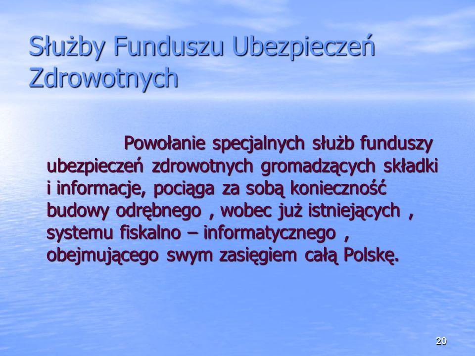 Służby Funduszu Ubezpieczeń Zdrowotnych