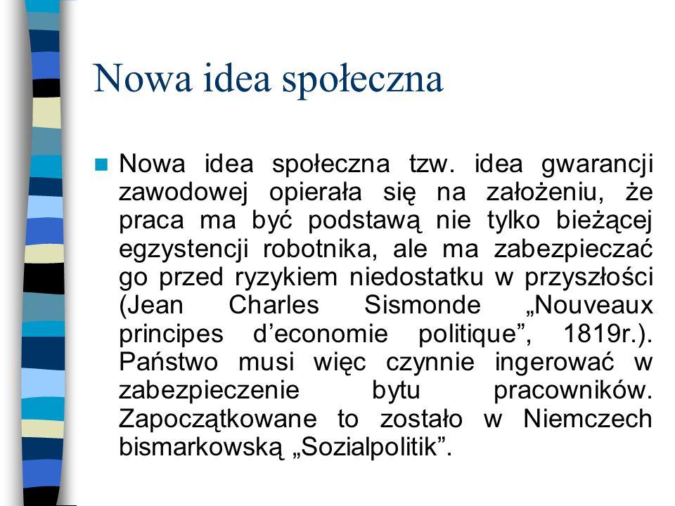 Nowa idea społeczna