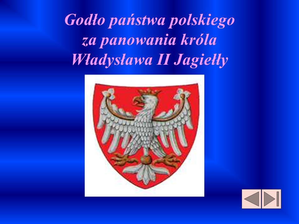 Godło państwa polskiego za panowania króla Władysława II Jagiełły