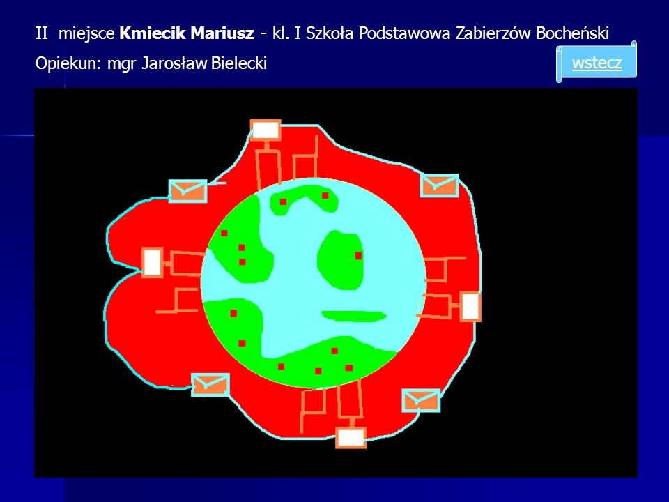 II miejsce Kmiecik Mariusz - kl