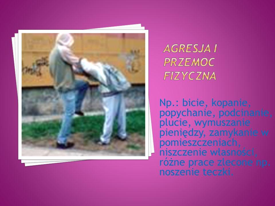 Agresja i przemoc fizyczna
