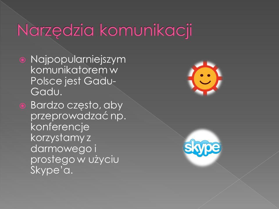 Narzędzia komunikacji