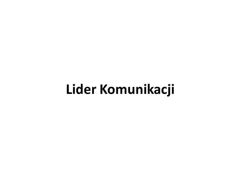 Lider Komunikacji 15