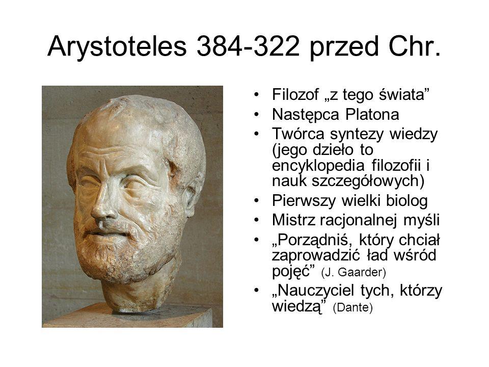 Arystoteles 384-322 przed Chr.