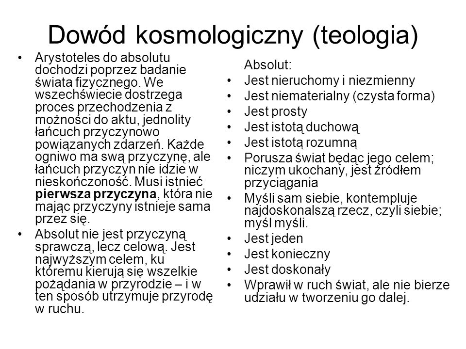 Dowód kosmologiczny (teologia)