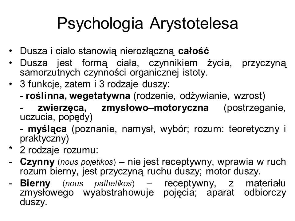 Psychologia Arystotelesa