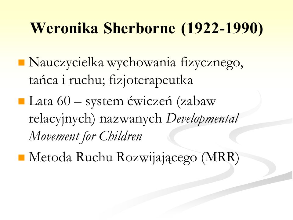 Weronika Sherborne (1922-1990)
