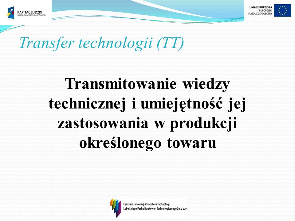 Transfer technologii (TT)