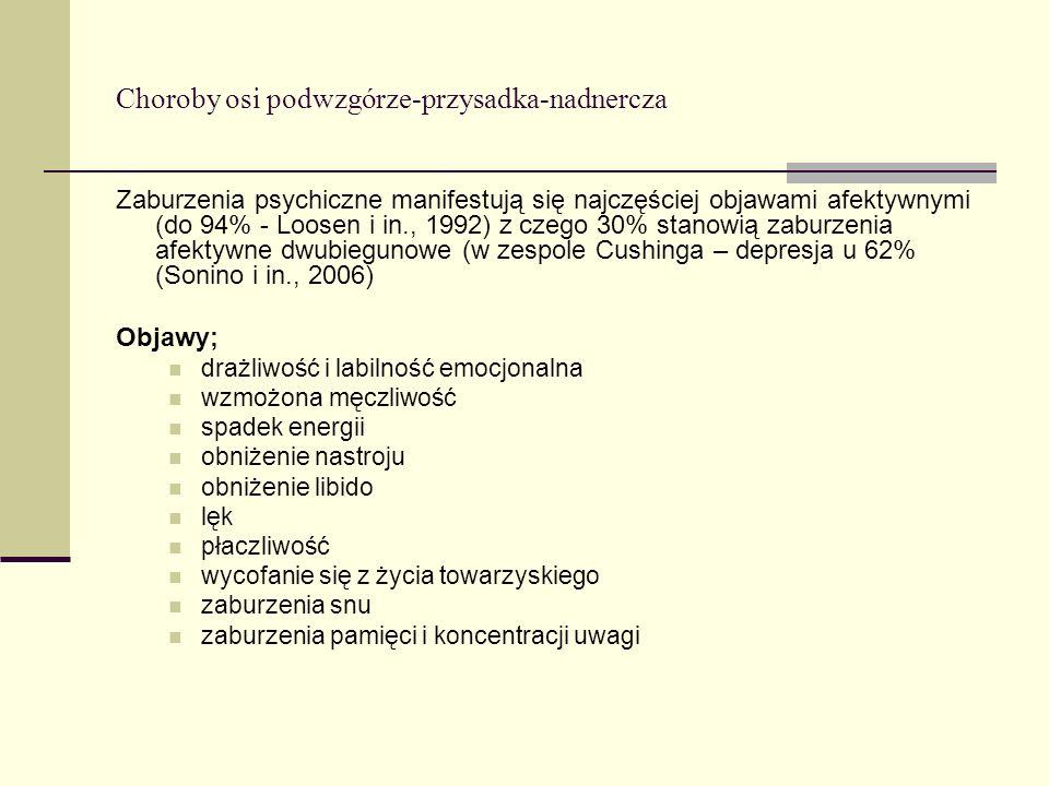 Choroby osi podwzgórze-przysadka-nadnercza
