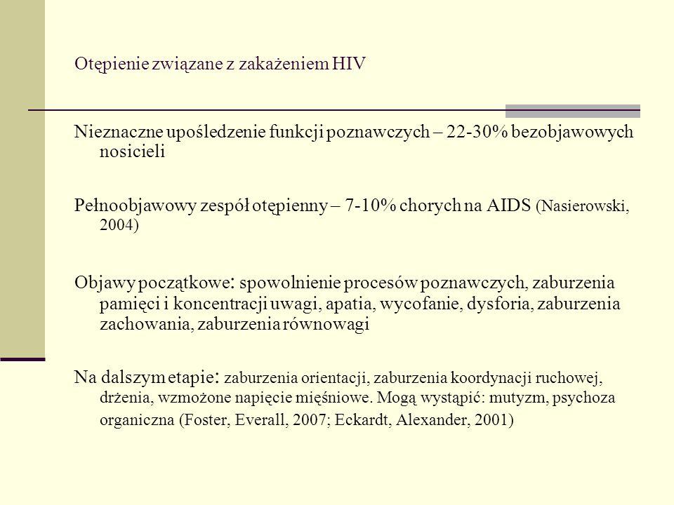 Otępienie związane z zakażeniem HIV