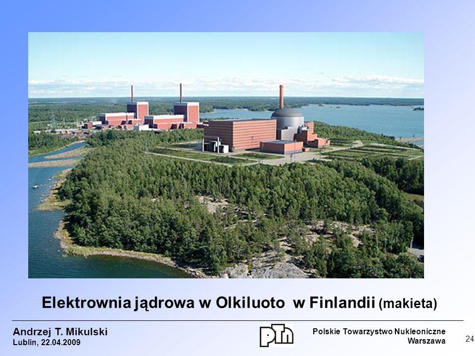 Elektrownia jądrowa w Olkiluoto w Finlandii (makieta)