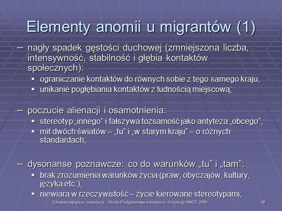 Elementy anomii u migrantów (1)