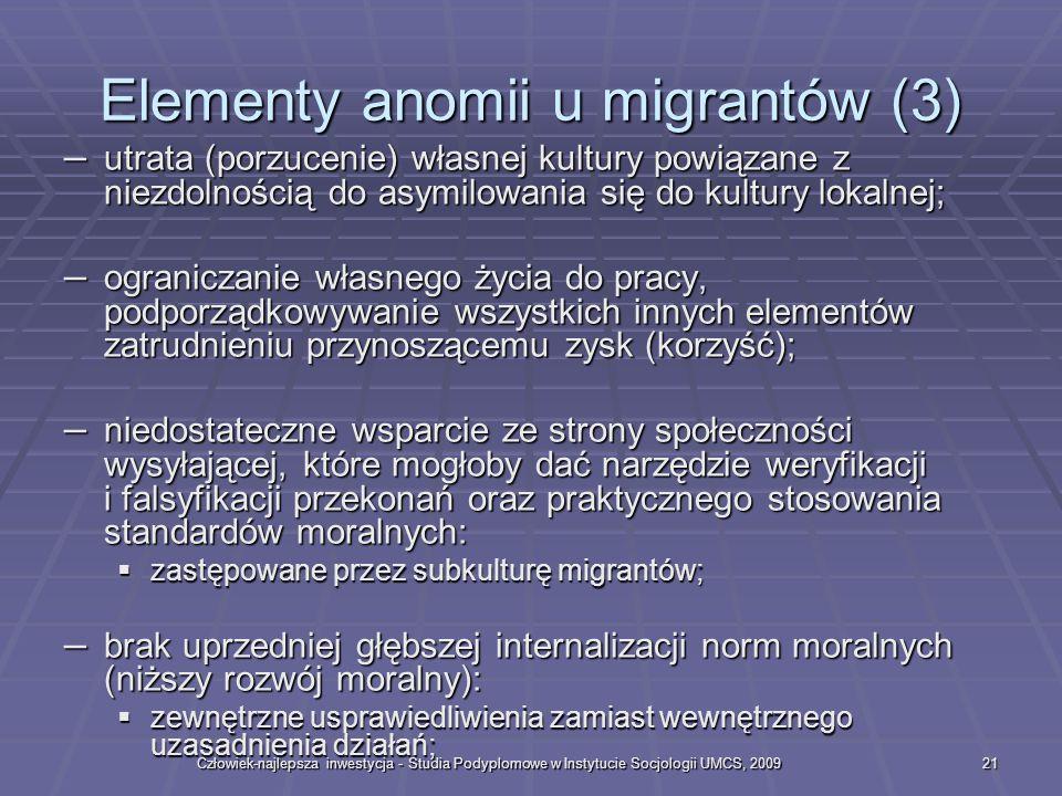 Elementy anomii u migrantów (3)