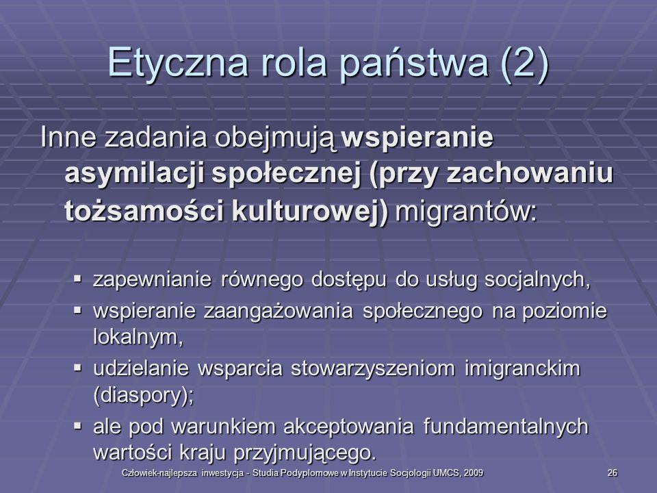 Etyczna rola państwa (2)
