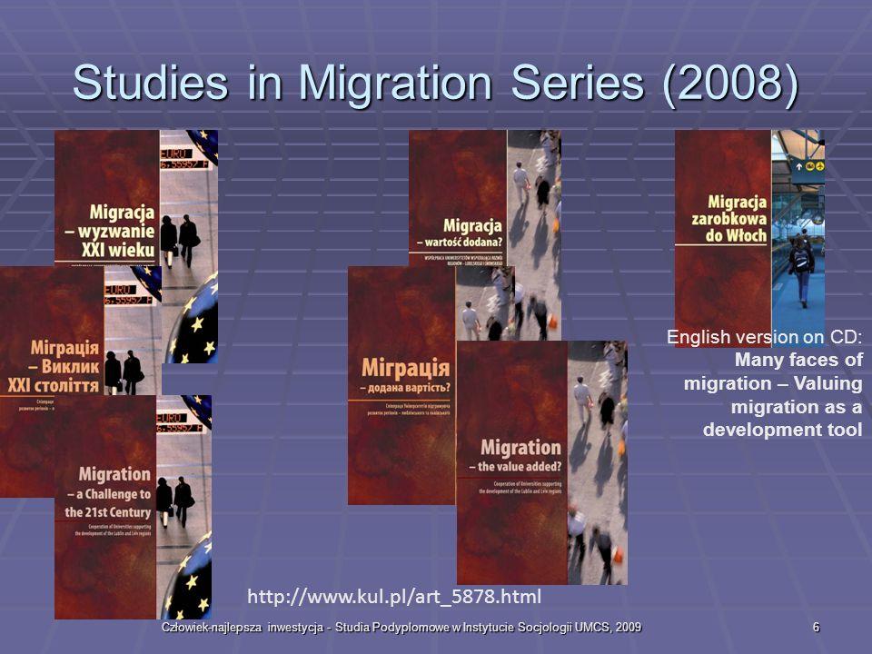 Studies in Migration Series (2008)