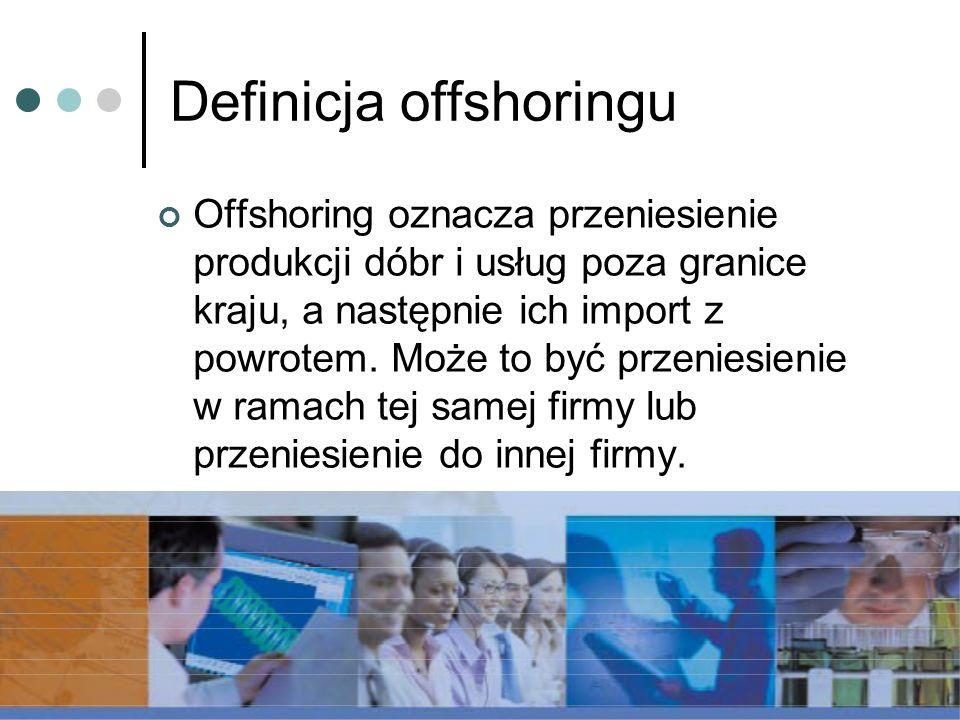 Definicja offshoringu