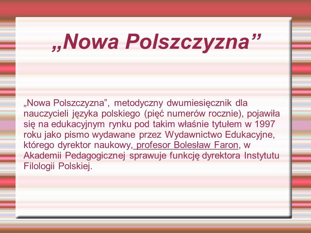 """""""Nowa Polszczyzna"""