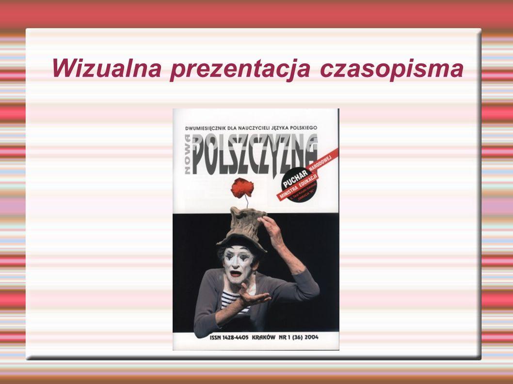 Wizualna prezentacja czasopisma