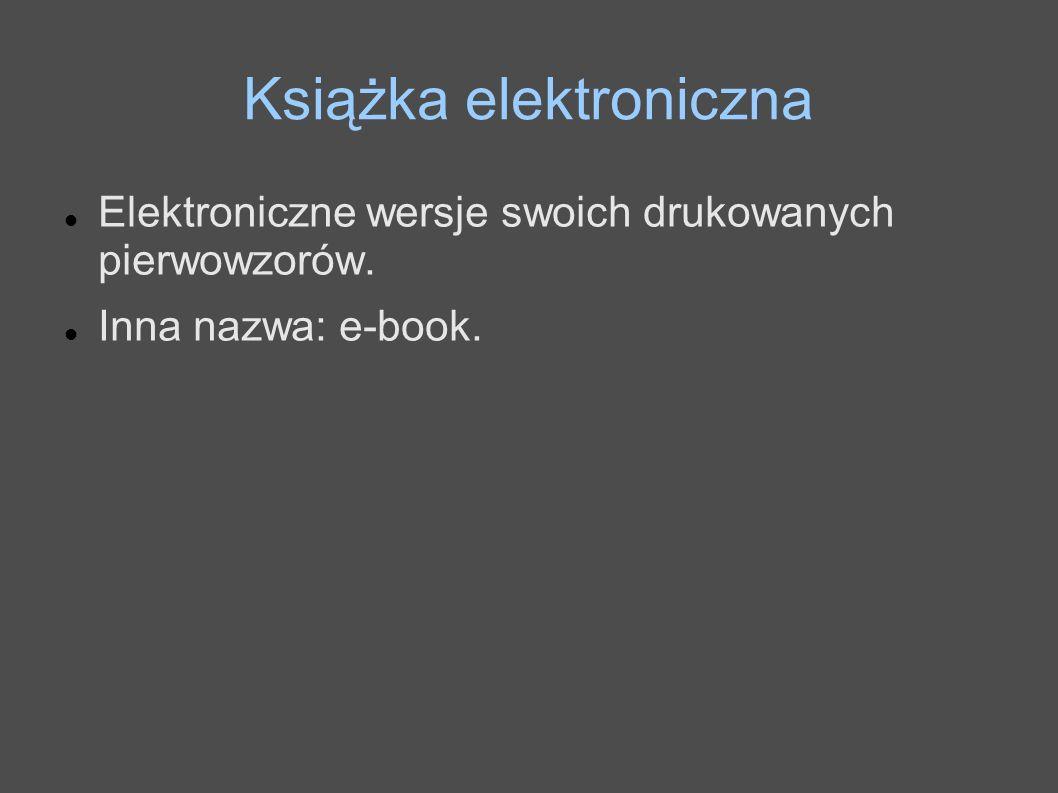 Książka elektroniczna