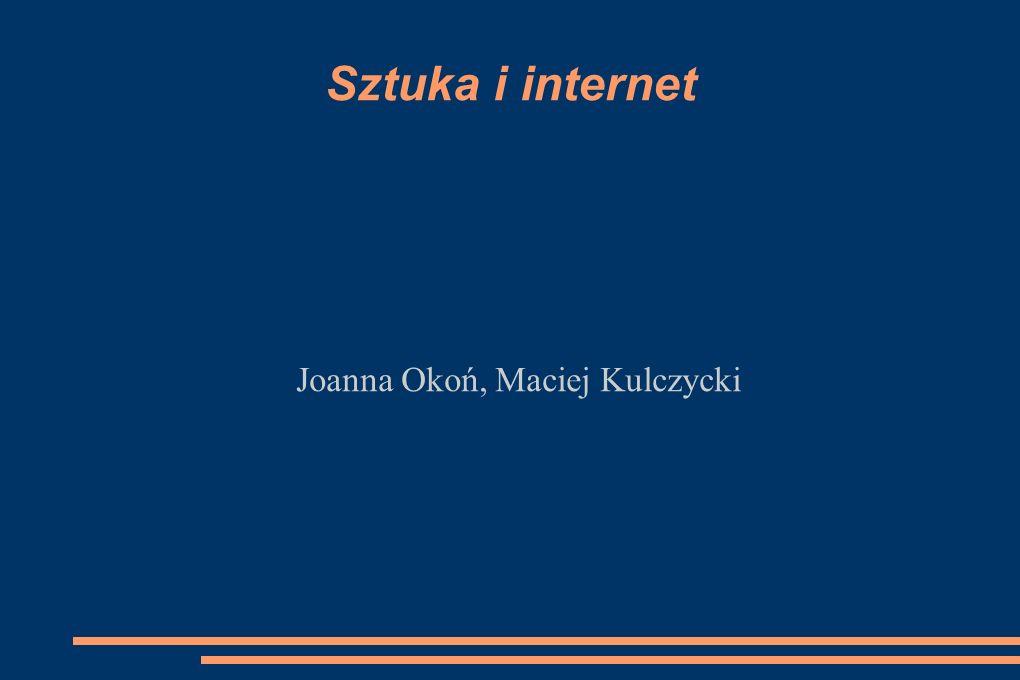 Joanna Okoń, Maciej Kulczycki