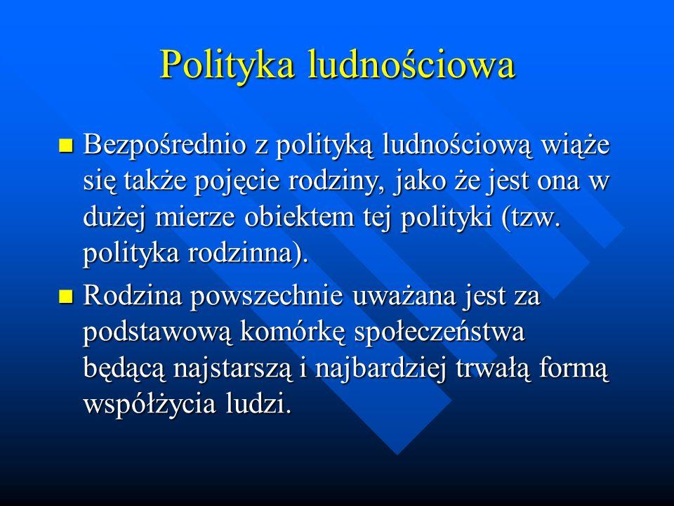 Polityka ludnościowa