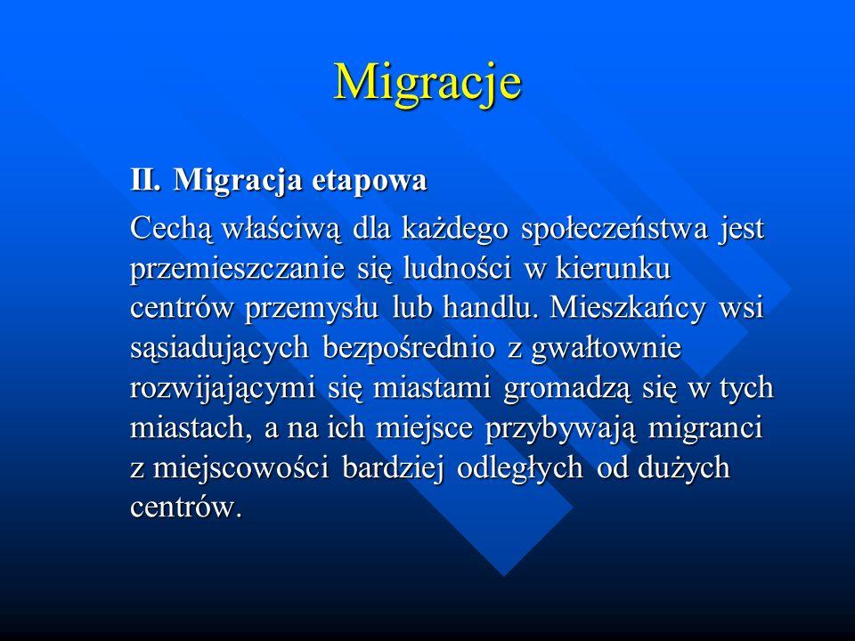 Migracje II. Migracja etapowa