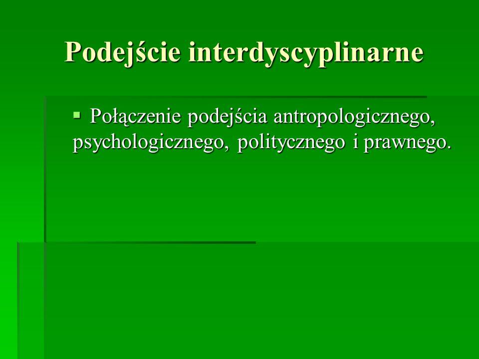 Podejście interdyscyplinarne