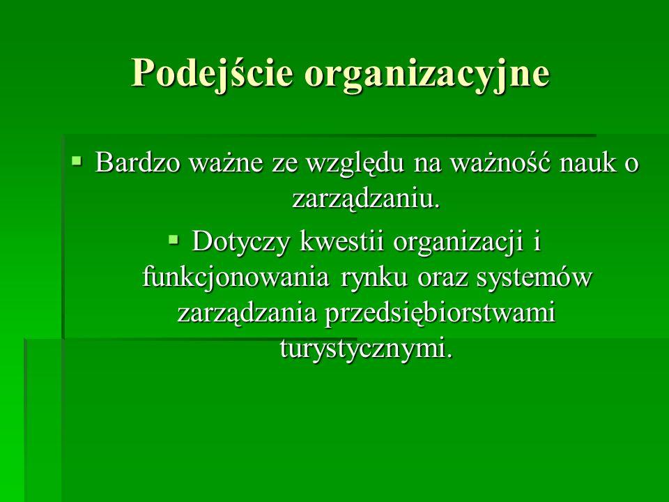 Podejście organizacyjne