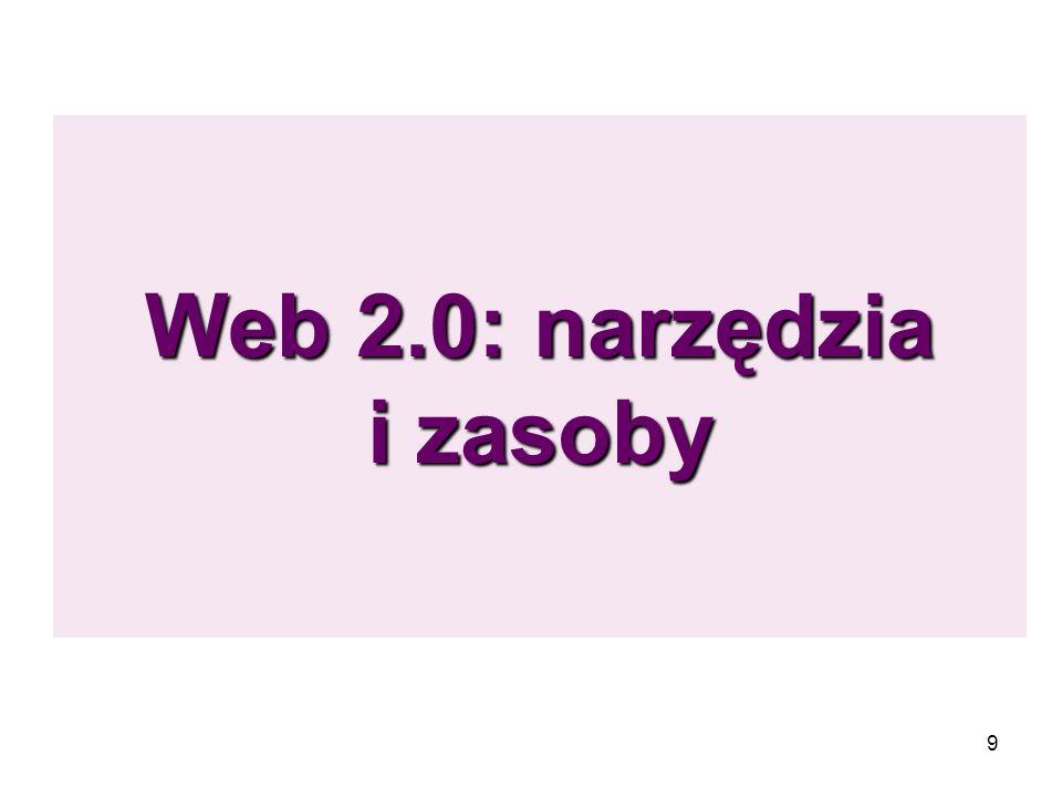 Web 2.0: narzędzia i zasoby