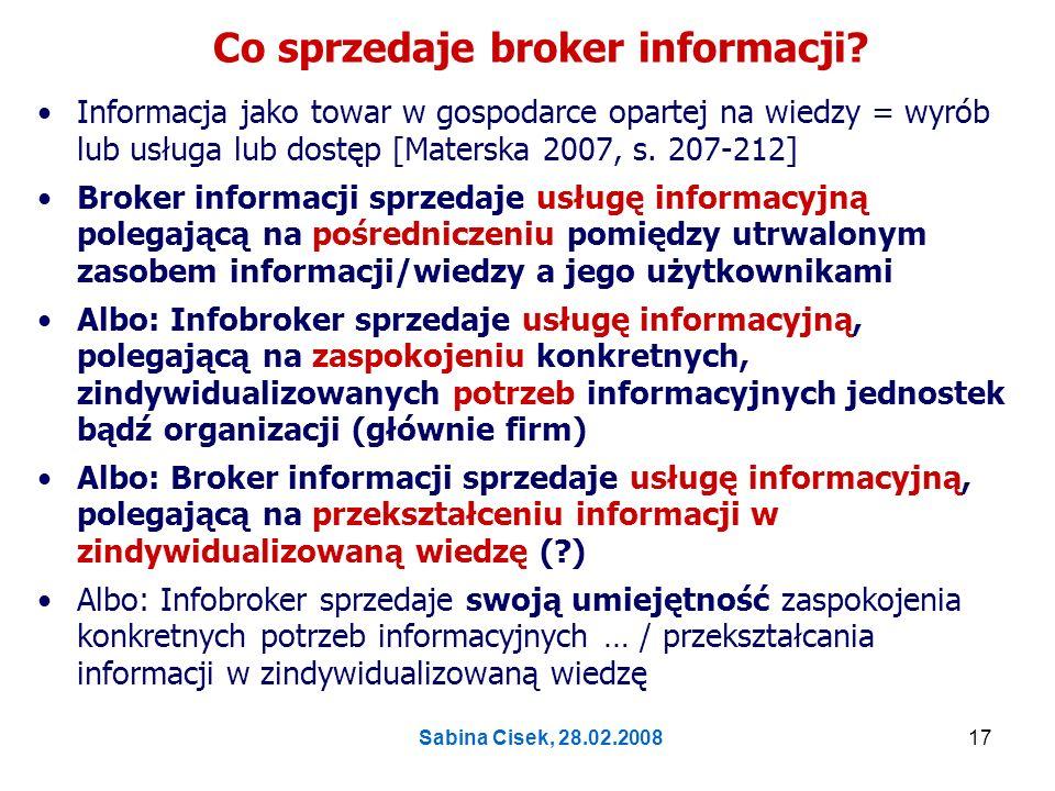 Co sprzedaje broker informacji