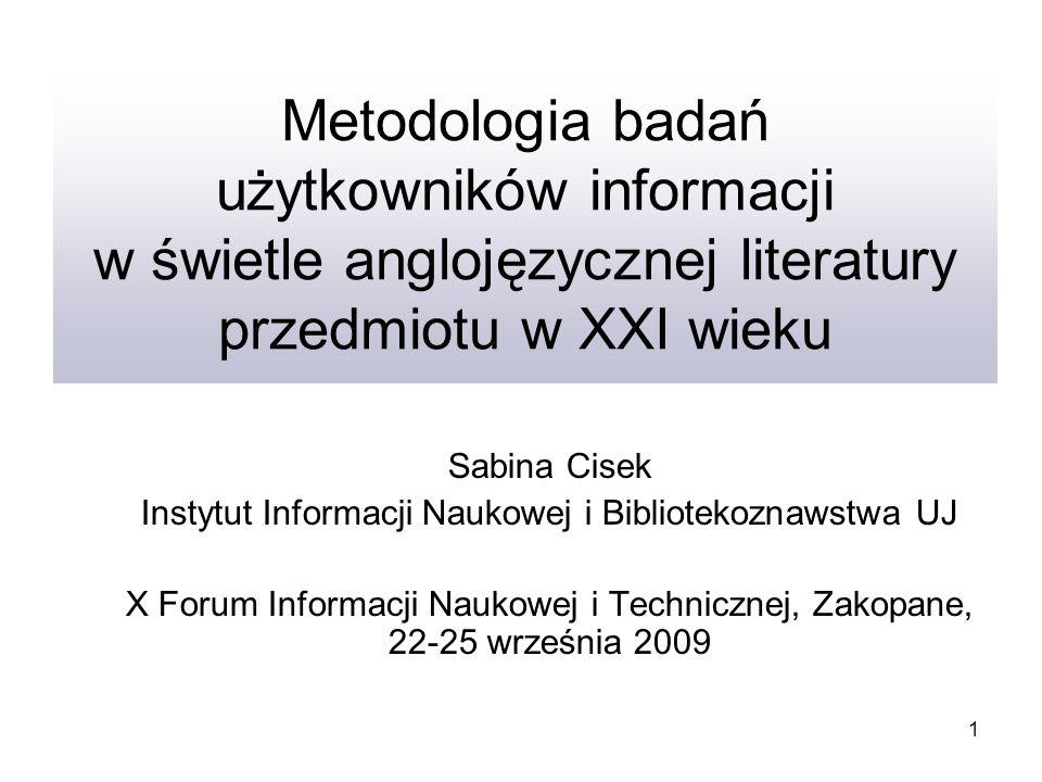 Instytut Informacji Naukowej i Bibliotekoznawstwa UJ