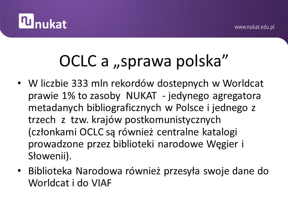 """OCLC a """"sprawa polska"""