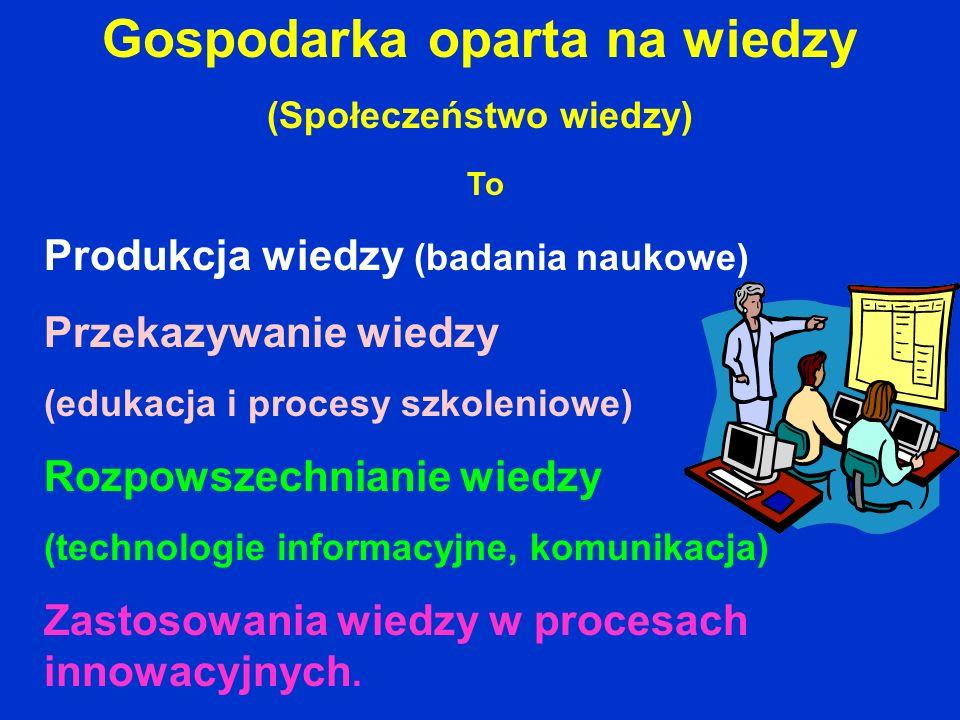Gospodarka oparta na wiedzy (Społeczeństwo wiedzy)