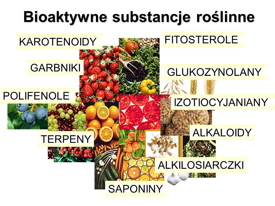 Bioaktywne substancje roślinne
