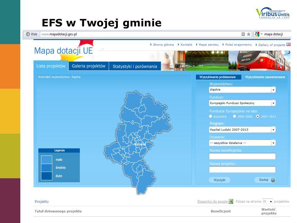 EFS w Twojej gminie