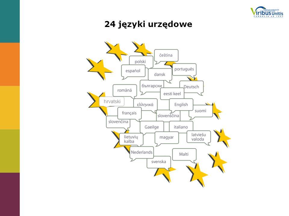 24 języki urzędowe hrvatski