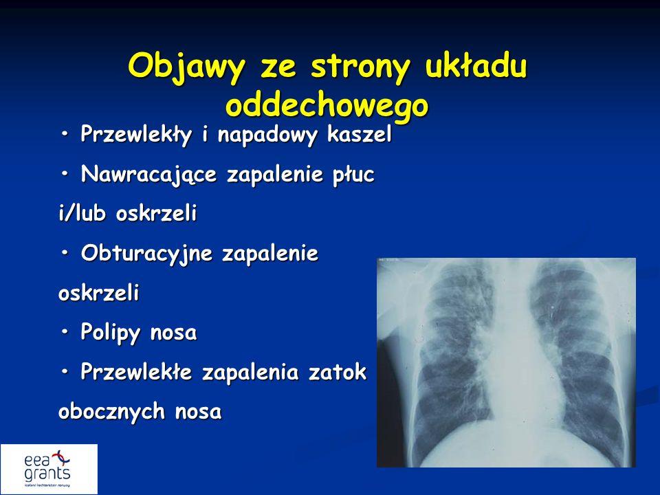 Objawy ze strony układu oddechowego