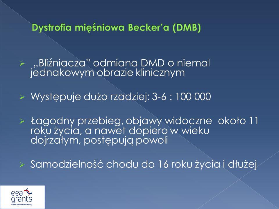 Dystrofia mięśniowa Becker'a (DMB)