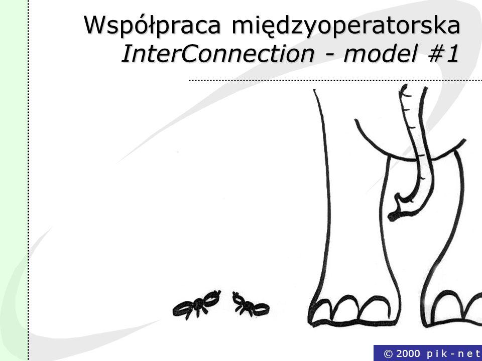 Współpraca międzyoperatorska InterConnection - model #1