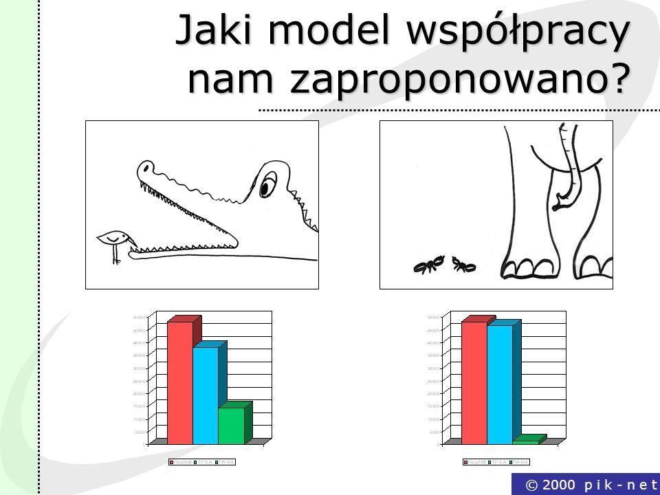 Jaki model współpracy nam zaproponowano