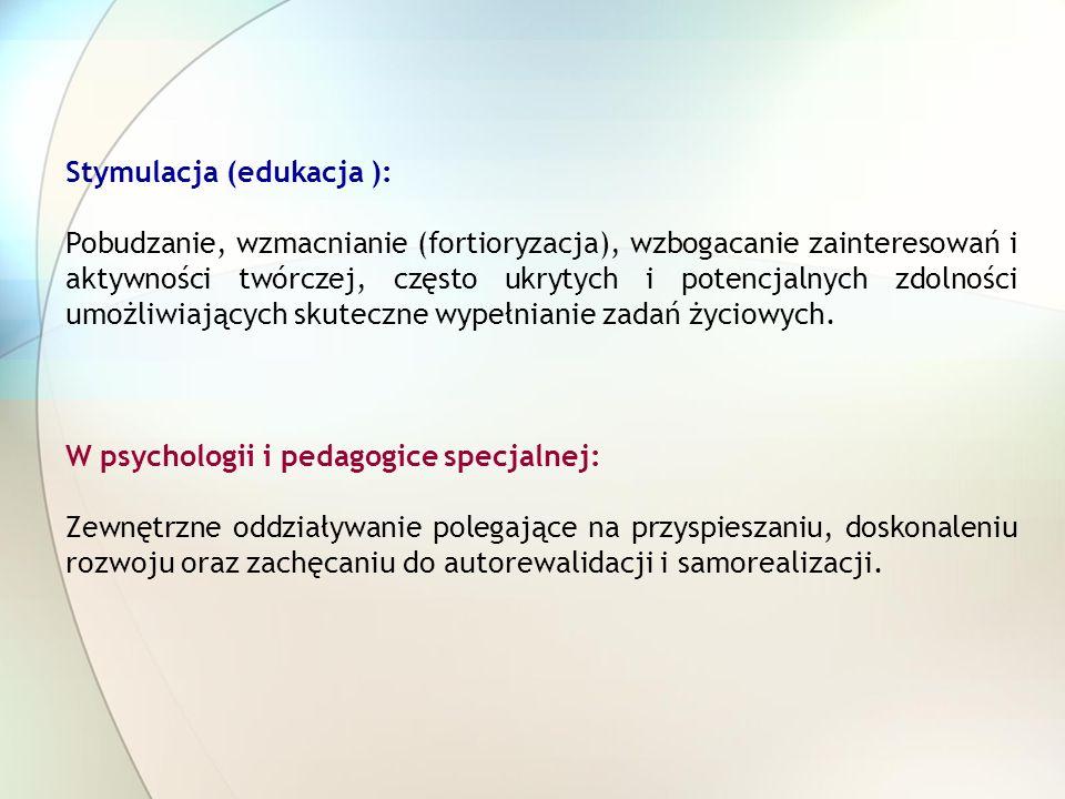 Stymulacja (edukacja ):
