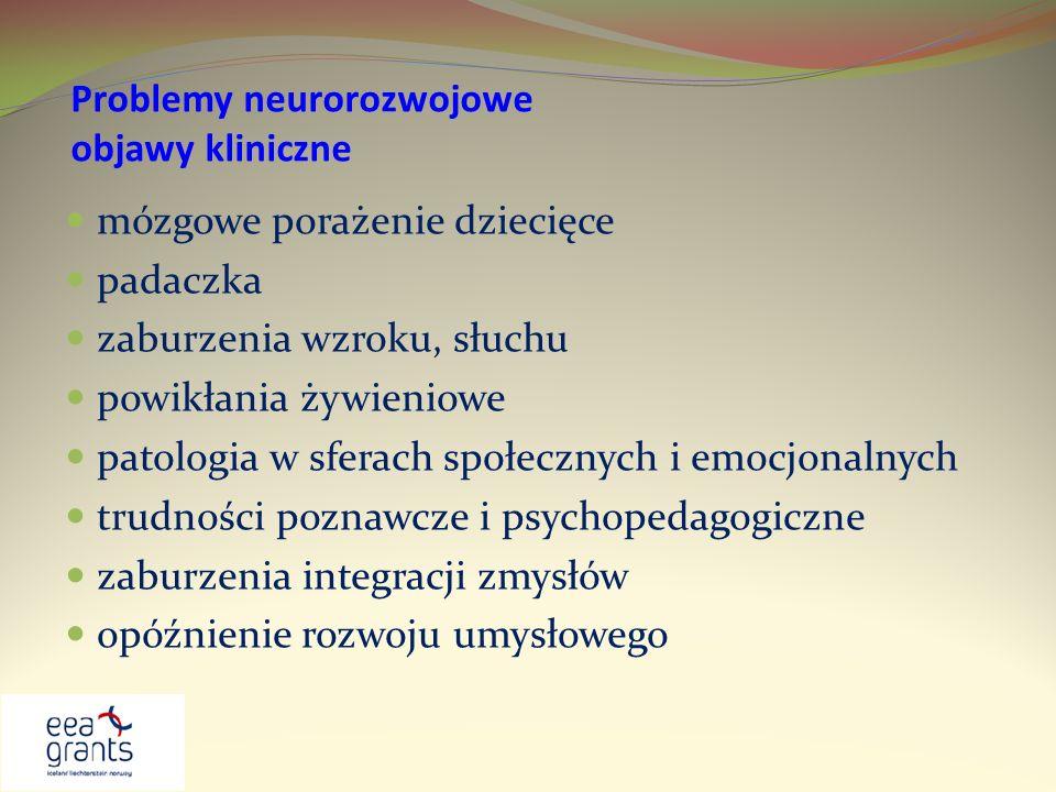 Problemy neurorozwojowe objawy kliniczne