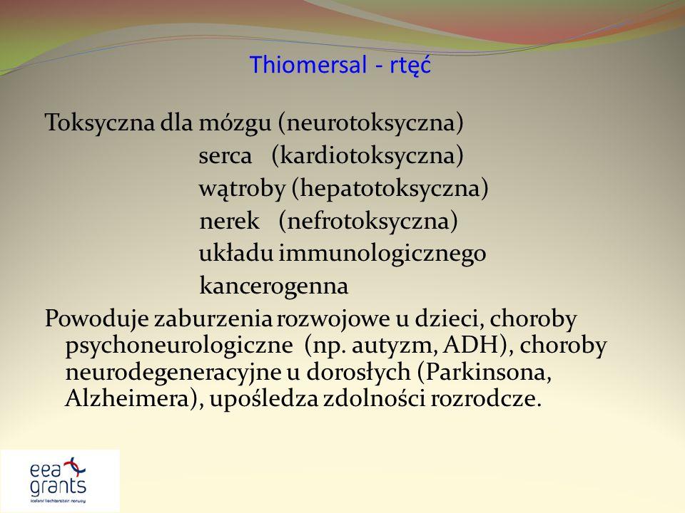 Thiomersal - rtęć