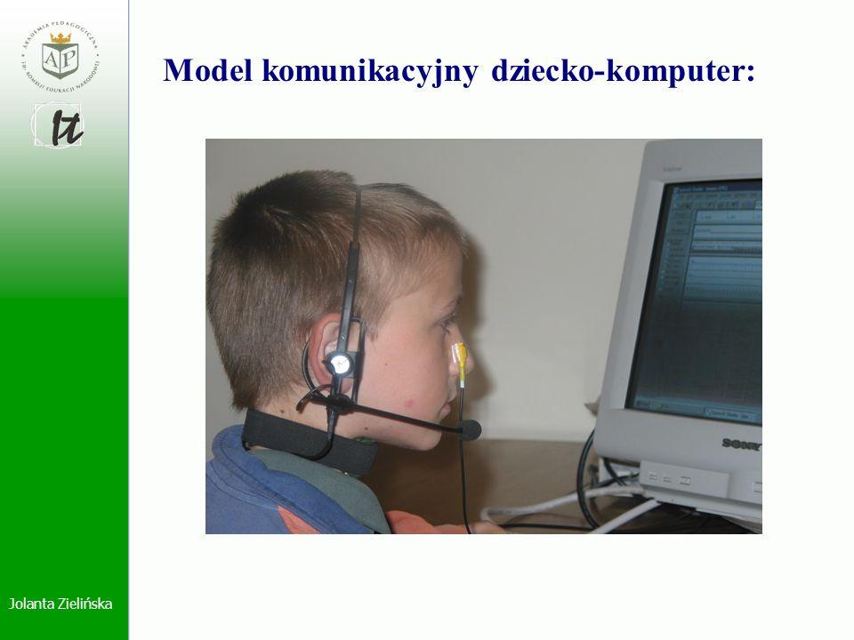 Model komunikacyjny dziecko-komputer: