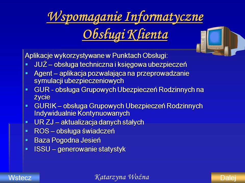 Wspomaganie Informatyczne Obsługi Klienta