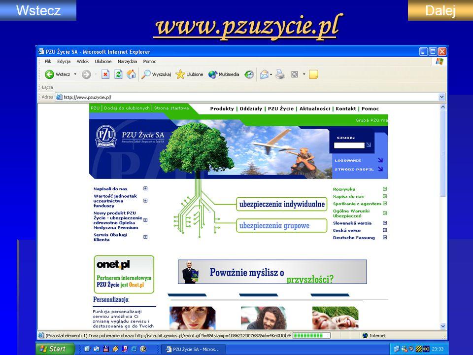 www.pzuzycie.pl Wstecz Dalej