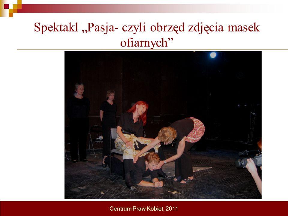 """Spektakl """"Pasja- czyli obrzęd zdjęcia masek ofiarnych"""