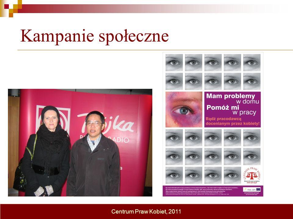 Kampanie społeczne Centrum Praw Kobiet, 2011